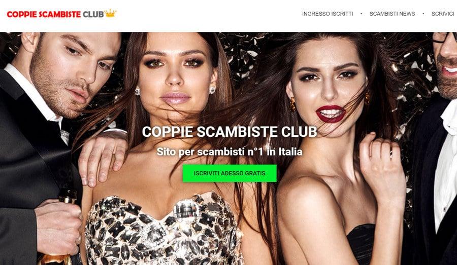 Home page sito Coppie Scambiste