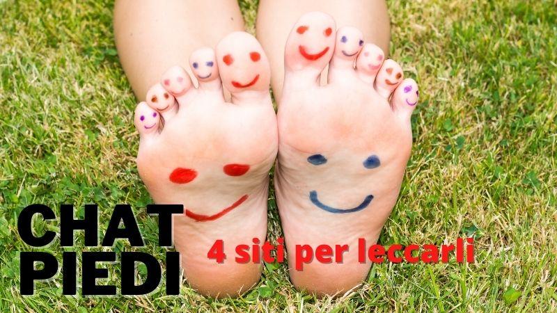 You are currently viewing Chat Piedi: 4 siti ESCLUSIVI per chi ama LECCARE i PIEDI