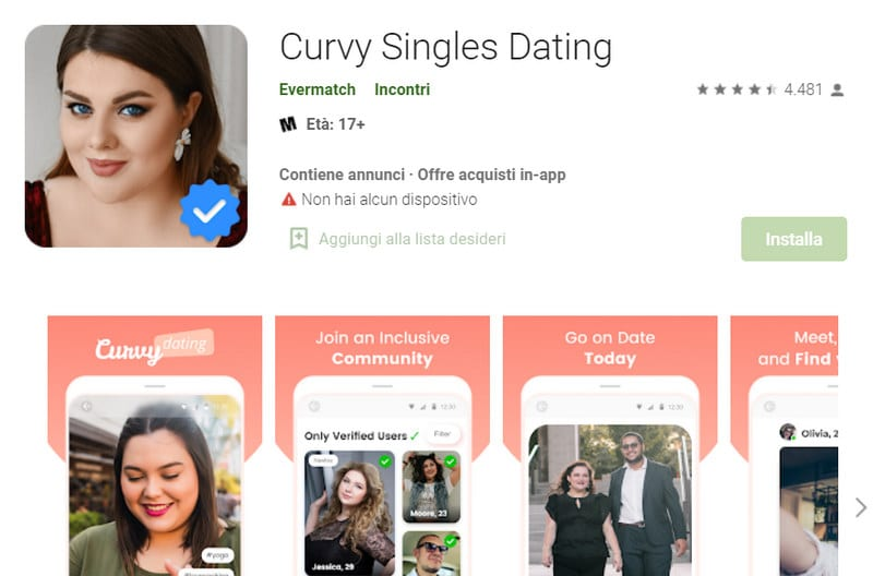 curvy single dating